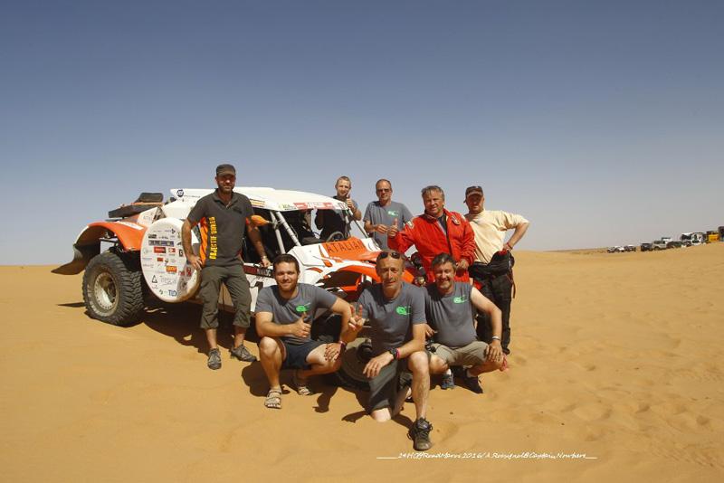 """L'équipe """"Objectif Dune"""""""